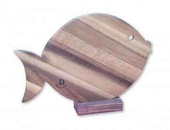 tagliere legno pesce