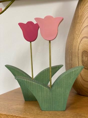 Tulipano in legno