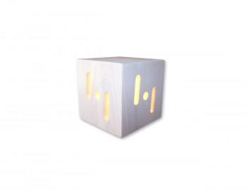 Lampada da tavolo in legno Aristeo