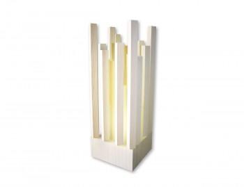 Lampada da tavolo in legno Pitagora