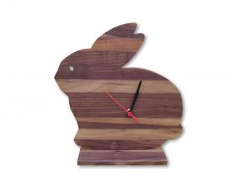 Orologio in legno Coniglio