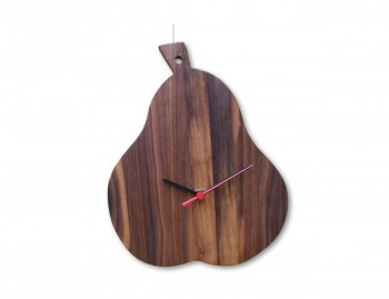 Orologio in legno Pera